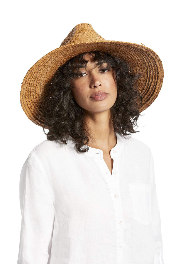 Lizz Wide Brim Fedora by Michael Stars