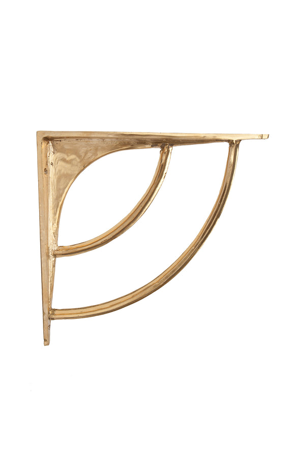 Brass Wall Shelf Bracket by Michele Varian