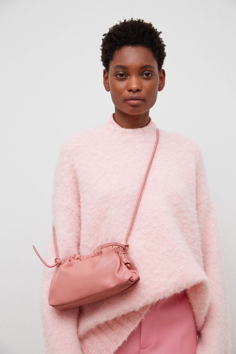 Mini Cloud Clutch in Blush