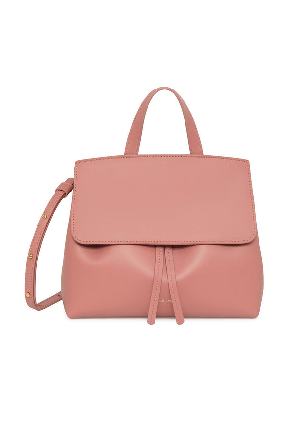 Blush Pink Calf Leather Shoulder/Clutch Bag by Mansur Gavriel