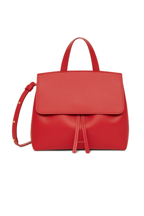 Red Calf Leather Shoulder/Clutch Bag by Mansur Gavriel