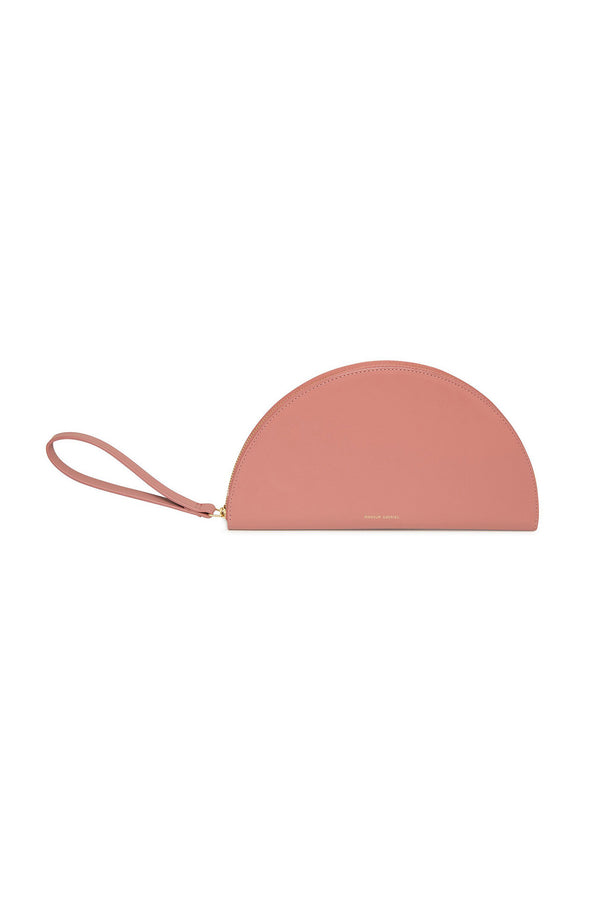 Blush Calf Leather Half Moon Wallet by Mansur Gavriel