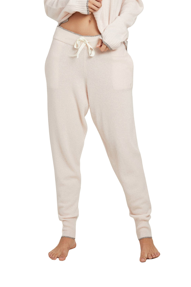 Vanilla cashmere Hailey Pant by Morgan Lane