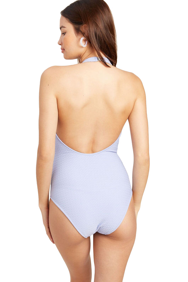 Button up Lilac Jay One-Piece by Morgan Lane