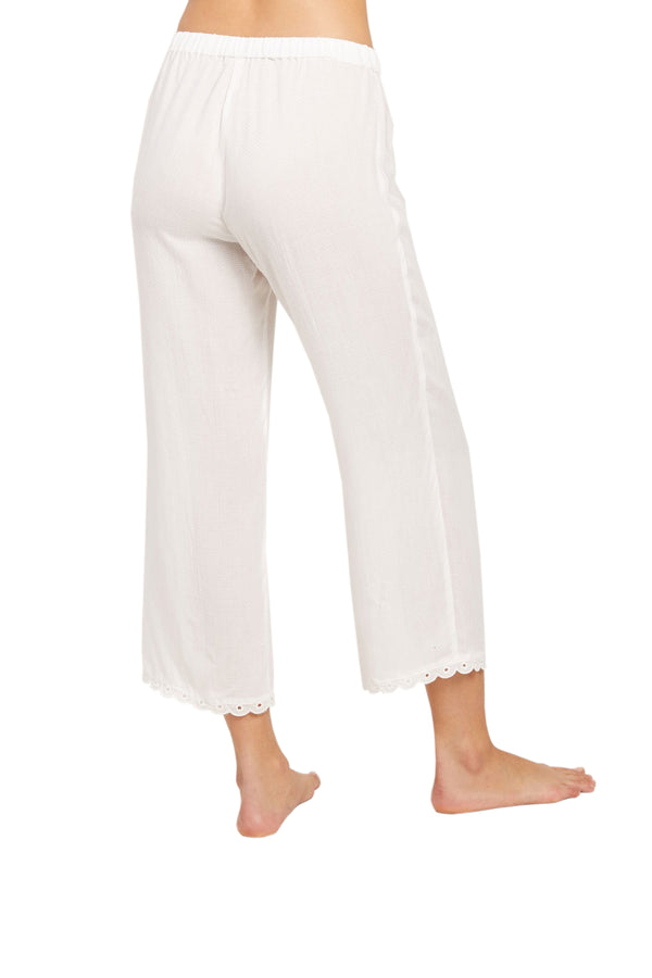 White Petal Pant by Morgan Lane