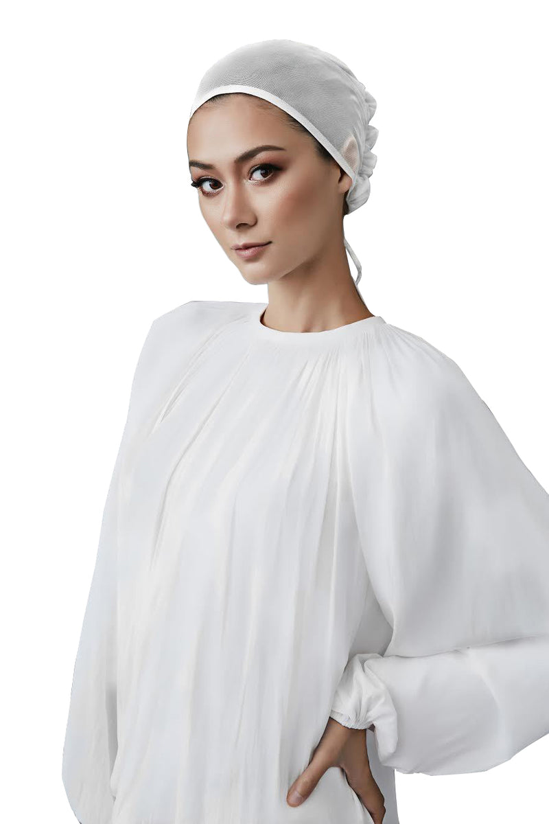 Barely There Underscarf in Ivory by Haute Hijab