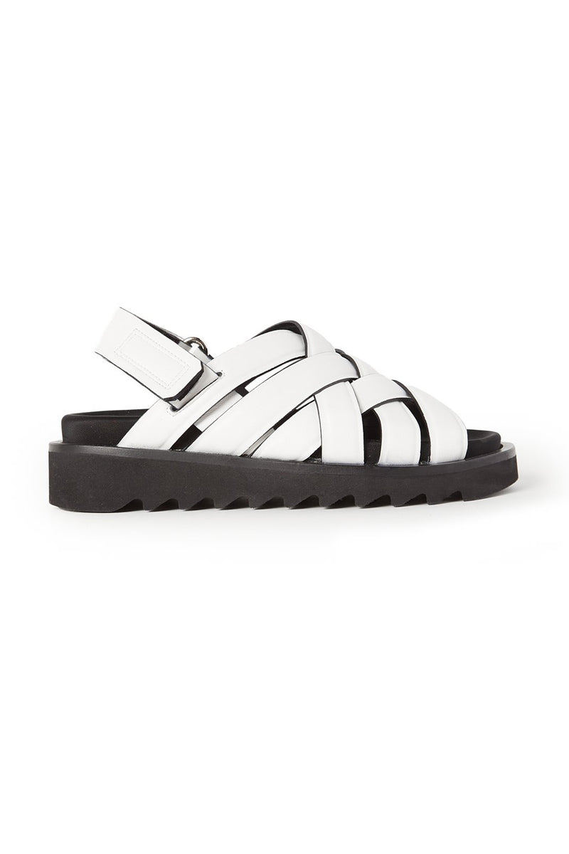 Nappa Woven Sandals