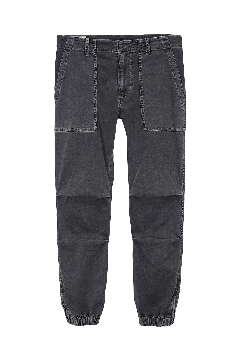 Cropped French Military Pant in Carbon by Nili Lotan