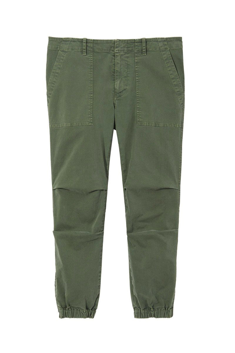 Cropped French Military Pant in Camo by Nili Lotan