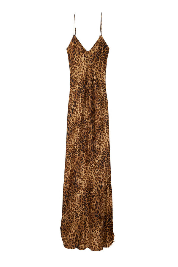 Cami Gown in Ginger Leopard by Nili Lotan