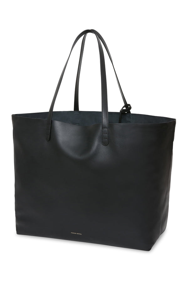 Oversized Tote in Black | Mansur Gavriel
