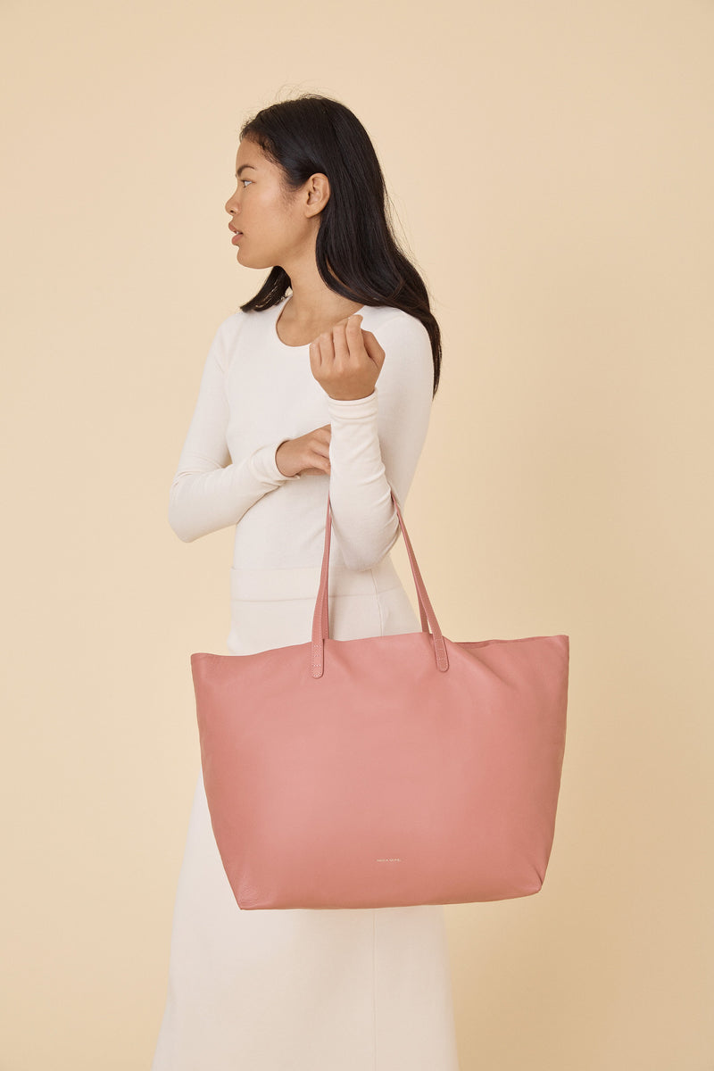 Oversized Tote in Blush | Mansur Gavriel