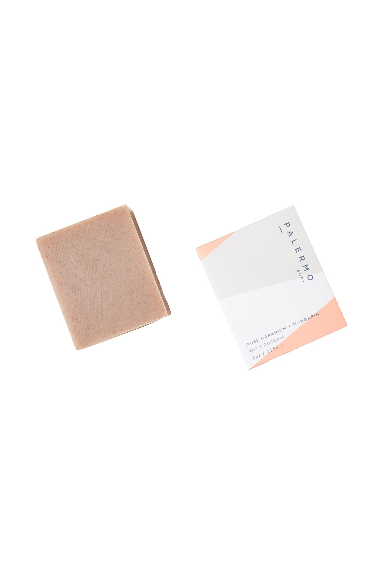 Rose Geranium & Mandarin with Rosehip Soap