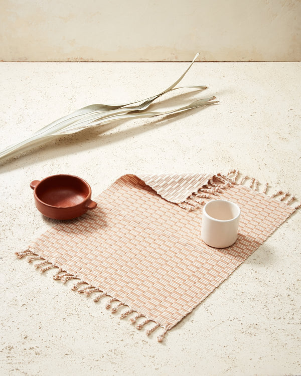 Panalito Placemat - Peach | MINNA