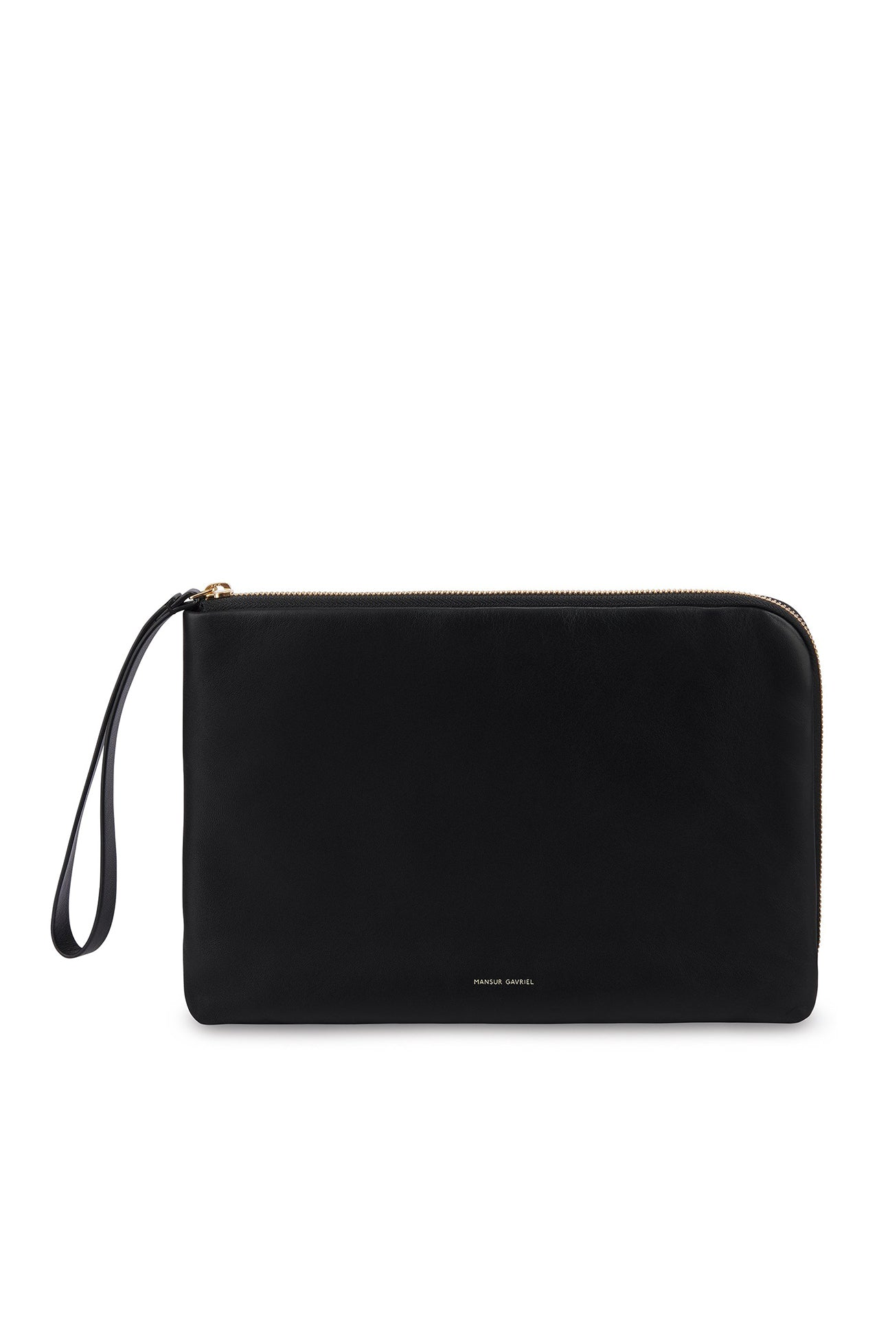 Pillow Pouch in Black with Flamma