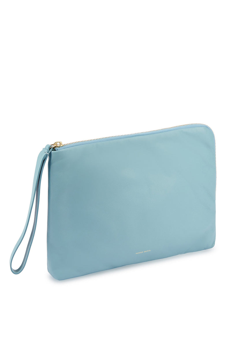 Pillow Pouch in Degas Blue | Mansur Gavriel