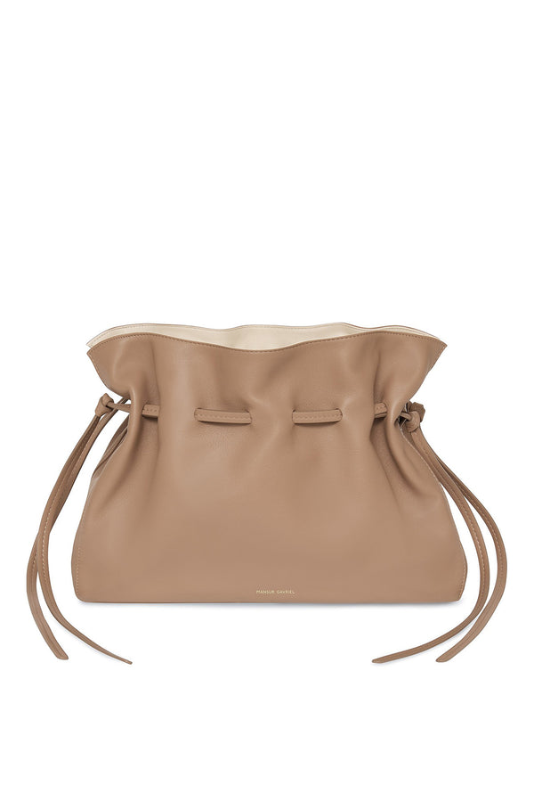 Protea Bag in Biscotto with Creme | Mansur Gavriel