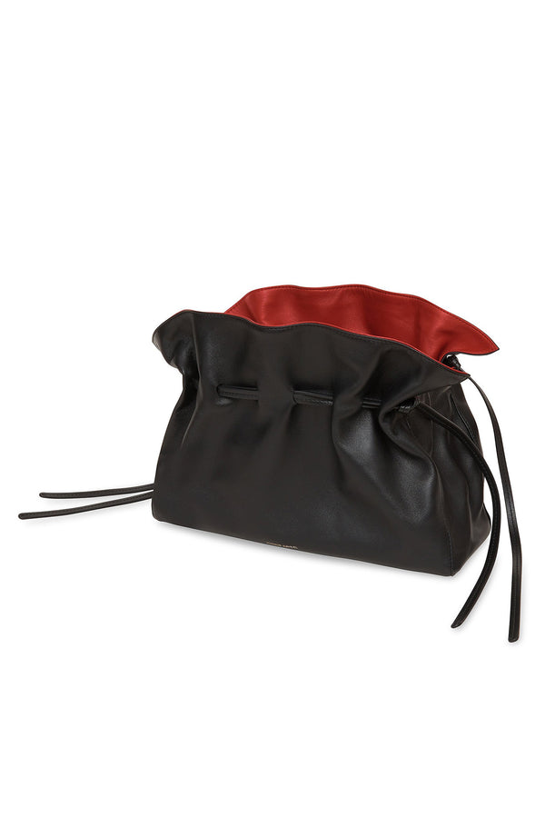 Protea Bag in Black with Flamma | Mansur Gavriel