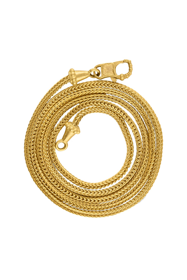 Duo Loop-in-Loop gold Chain by Prounis Jewelry