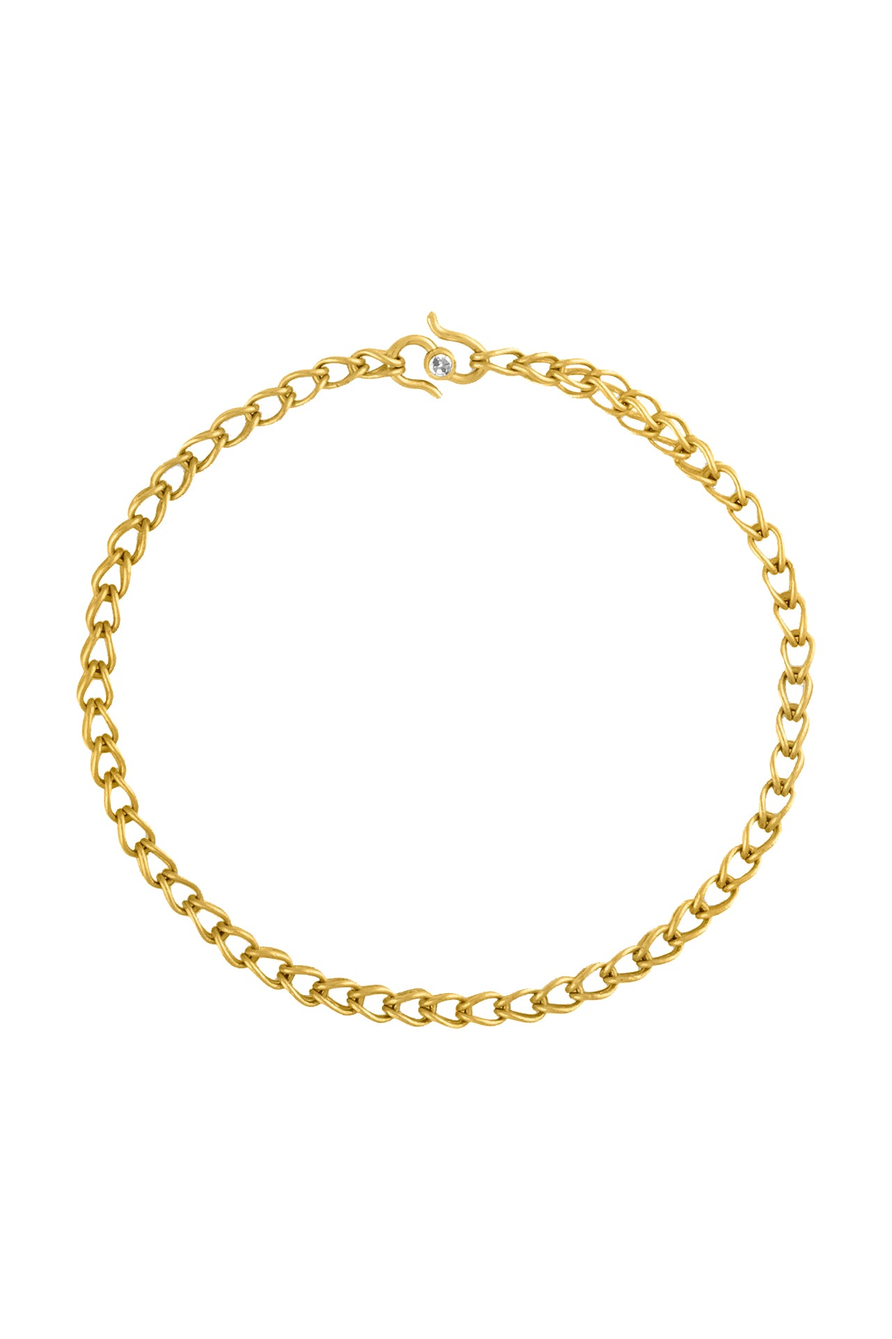 Solo Loop-in-Loop Chain Bracelet