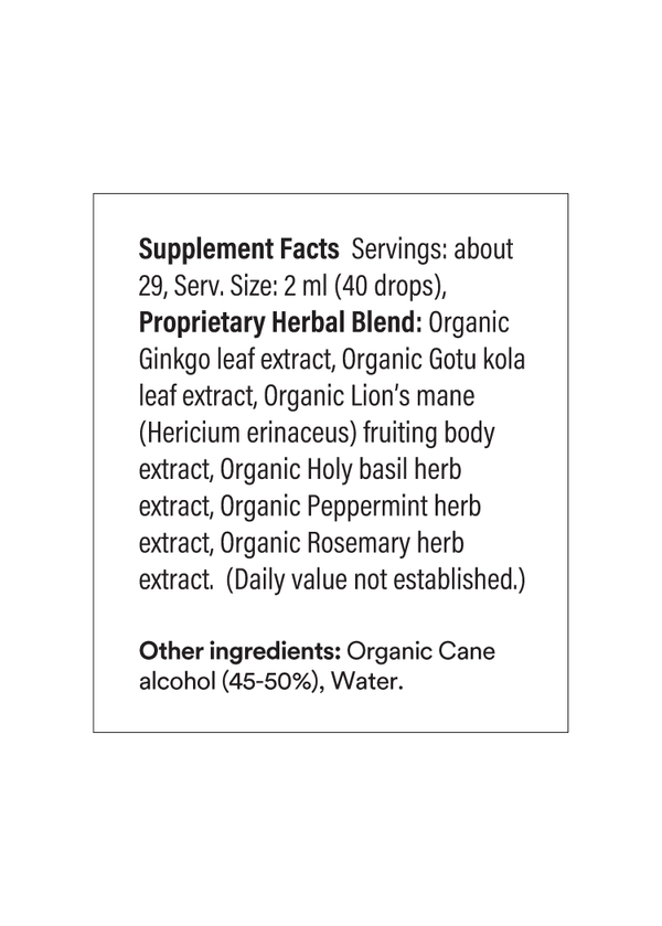 Quick Wits Supplement Information  | Wooden Spoon Herbs