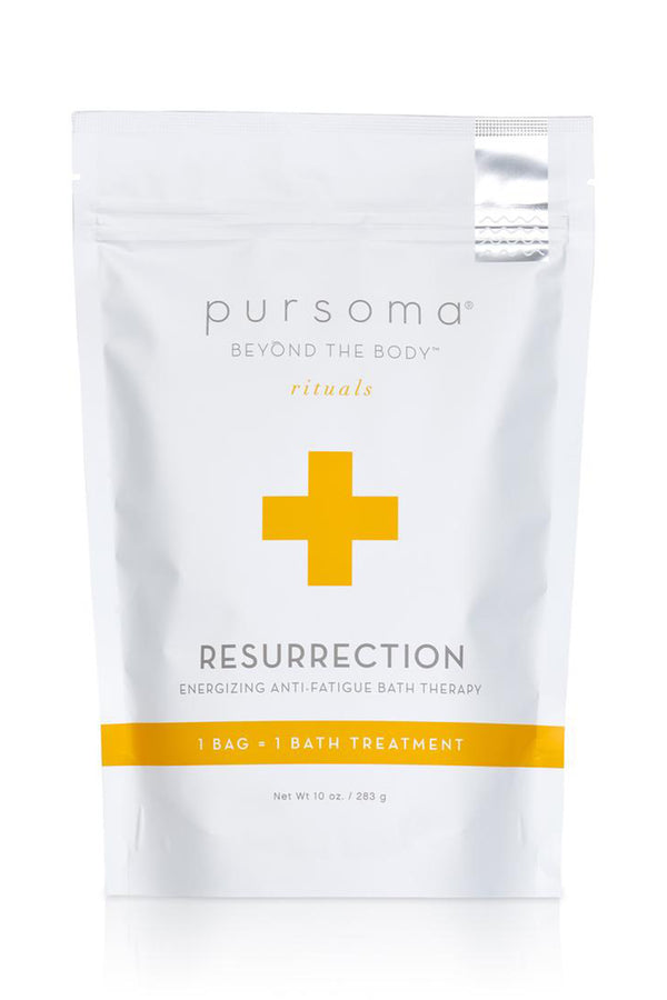 Resurrection Energizing Anti-Fatigue Bath Treatment | Pursoma