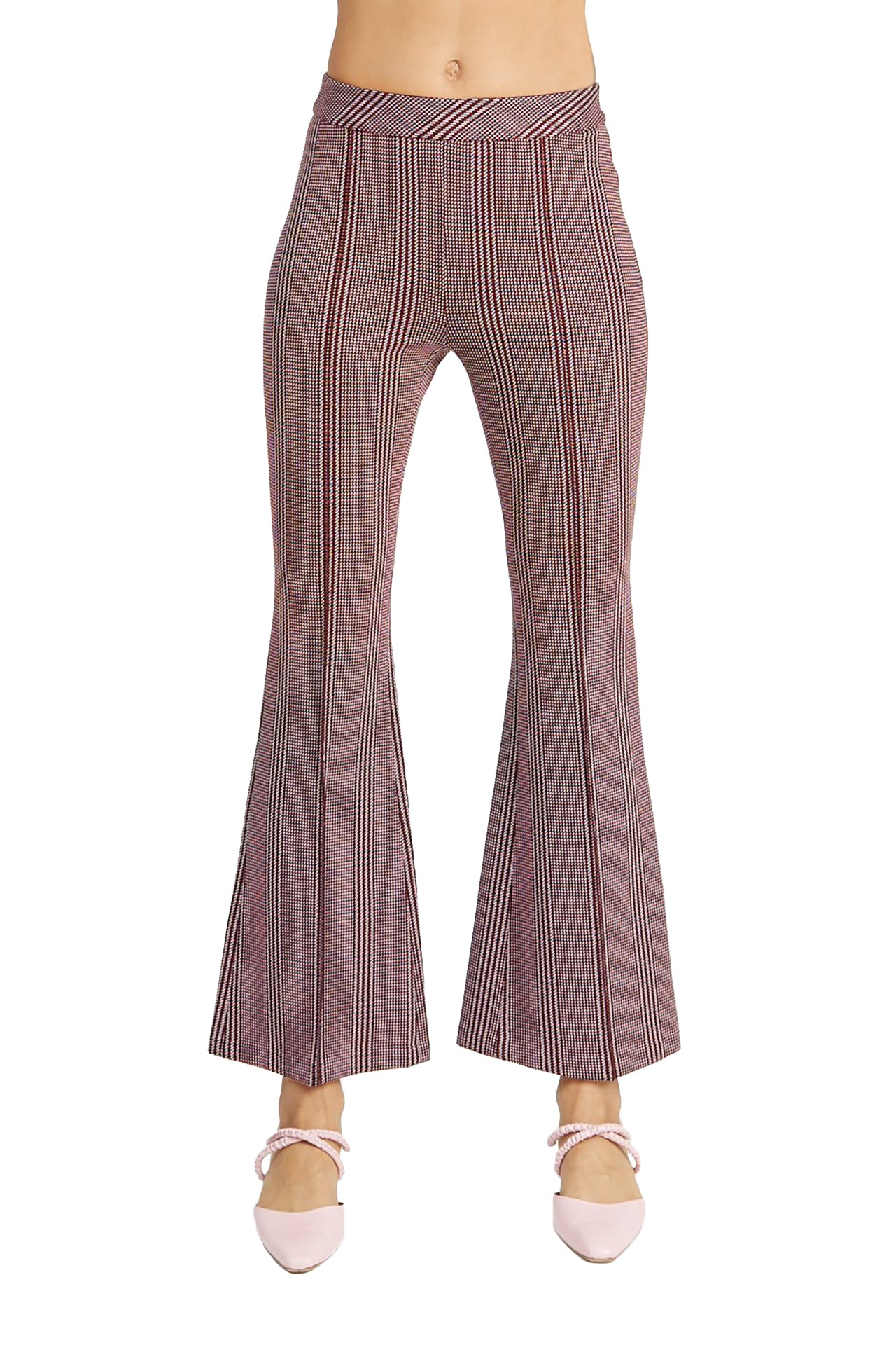 Pull-on Cropped Flares