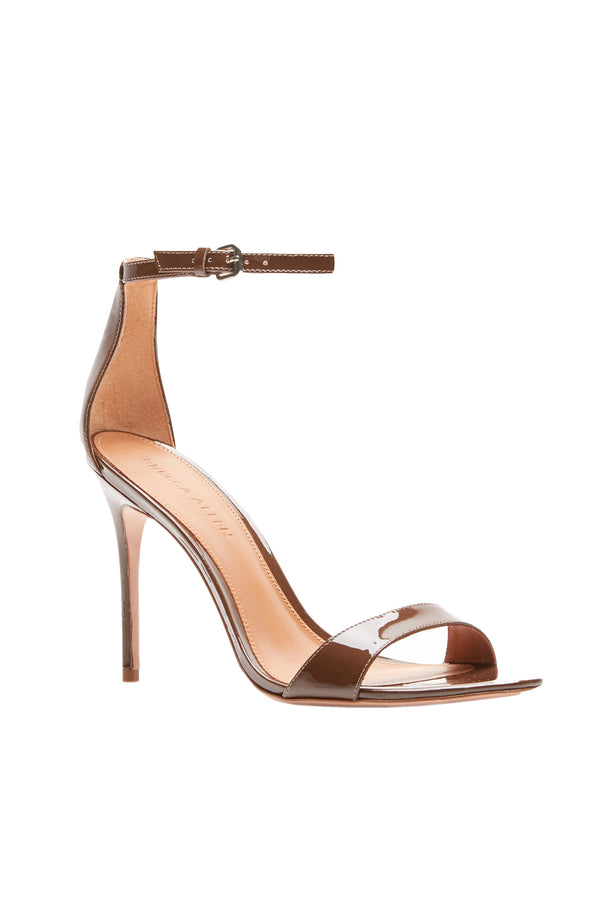 Two Strap Nude II Elevated Strappy Stiletto by Rebecca Allen