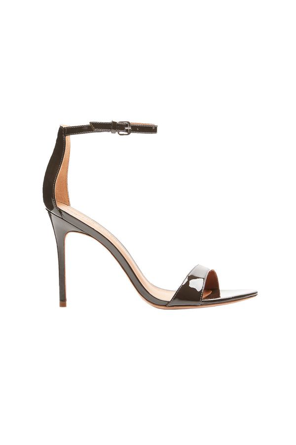 Two Strap Nude I Elevated Strappy Stiletto by Rebecca Allen