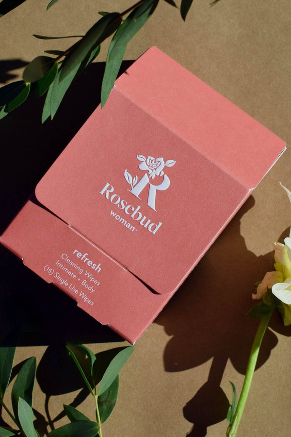 Refresh: Intimate & Body Cleansing Wipes | Rosebud Woman