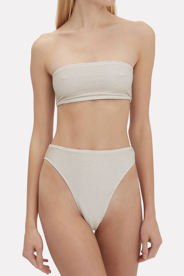 Nude Jessica Bandeau Top by Rochelle Sara
