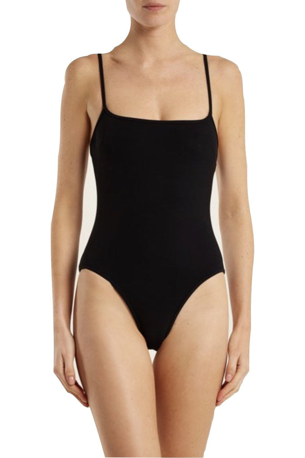 Trevor Square Neck One-Piece by Rochelle Sara