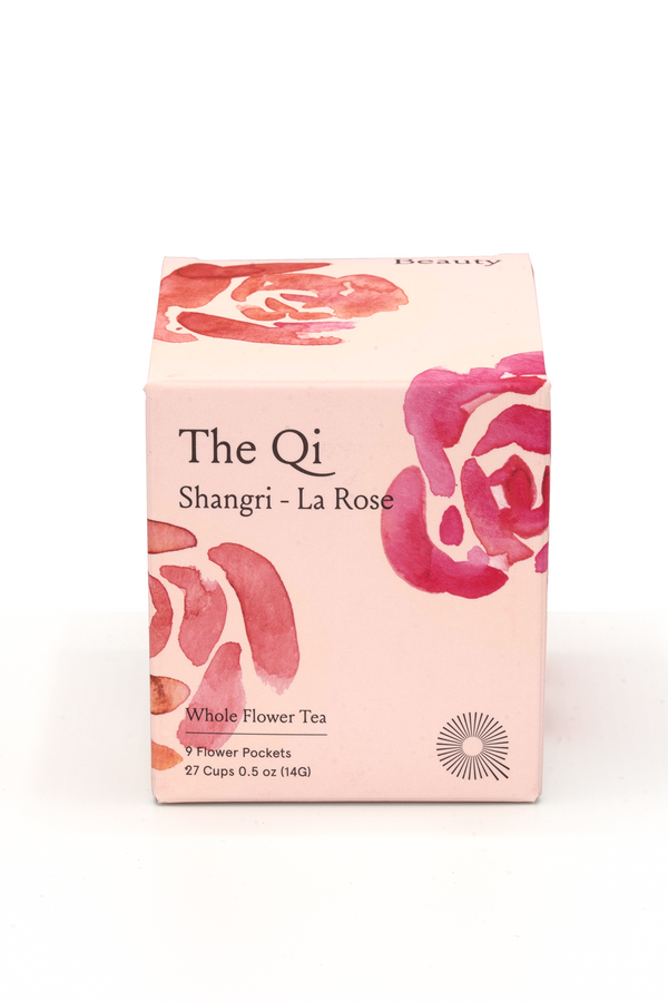 Shangri-La Rose Whole Flower Tea - The Qi