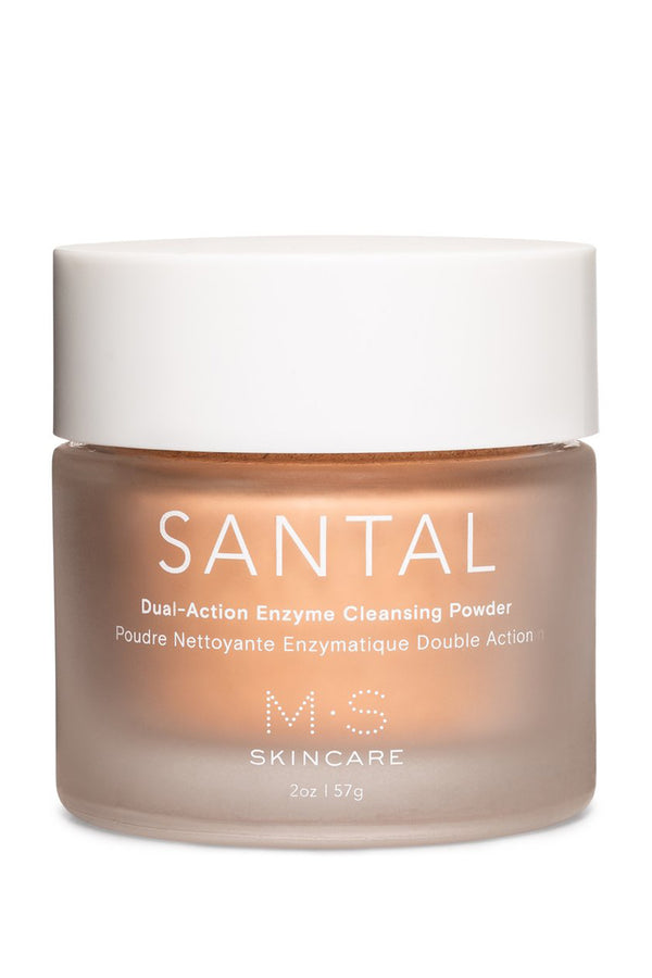 SANTAL: Dual-Action Enzyme Cleansing Powder | M.S. Skincare