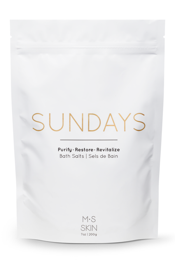 SUNDAYS: Detox Bath Salts | M.S. Skincare