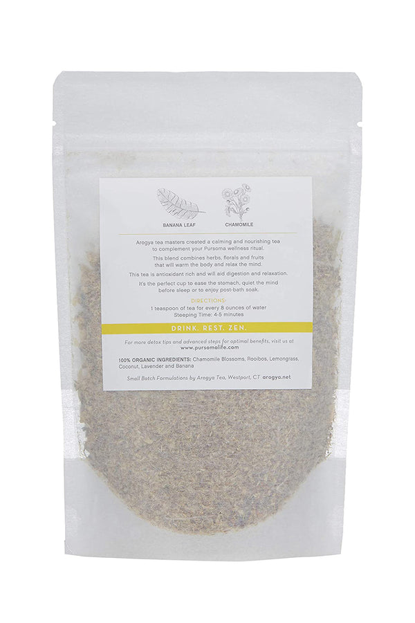 Sweet Sleep Banana Chamomile Calming Tea | Pursoma