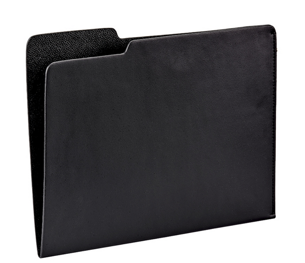 Graphic Image - Leather File Folder