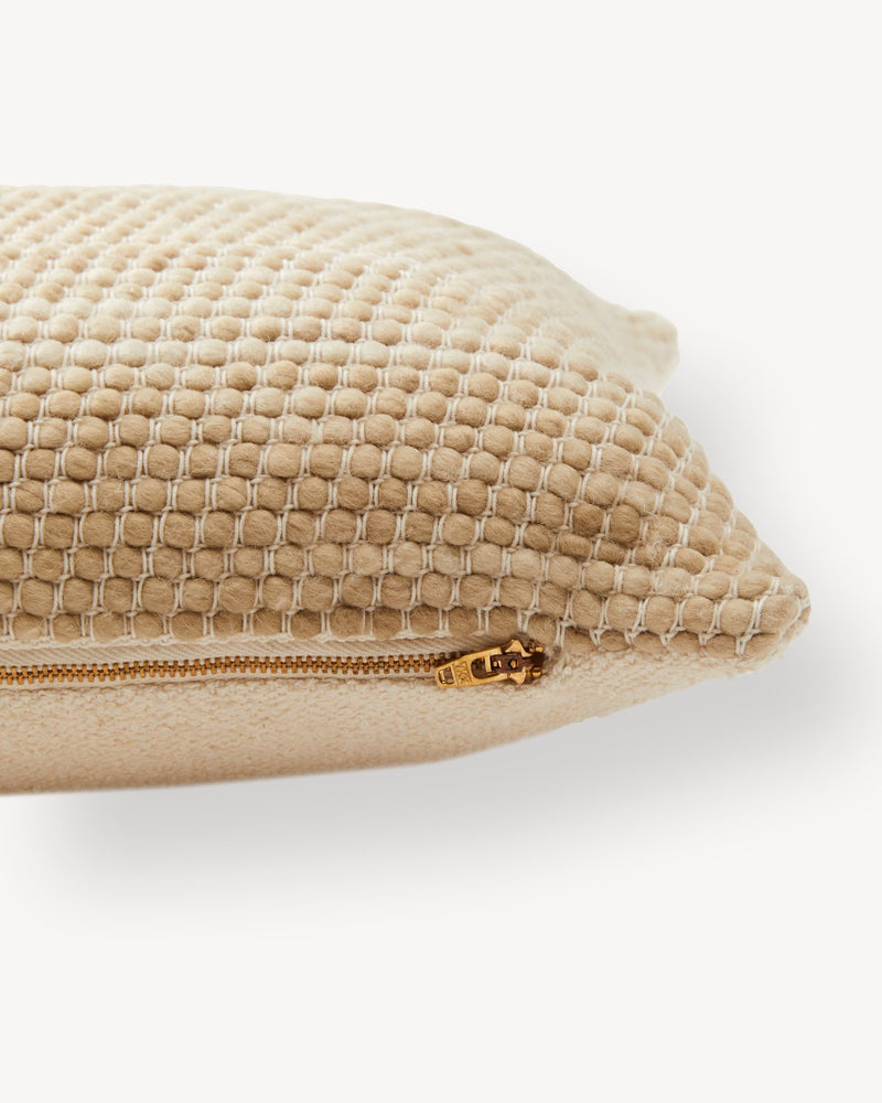 Sheila Lumbar Pillow - Wheat | MINNA