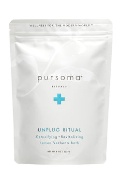 Unplug Ritual Lemon Verbena Bath | Pursoma