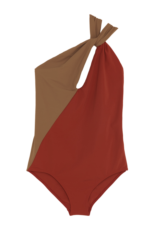 Venetia One Piece Swimsuit from Araks in Terracotta Umbria brown