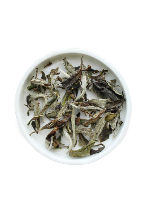 Aged White Peony Tea by Leaves and Flowers