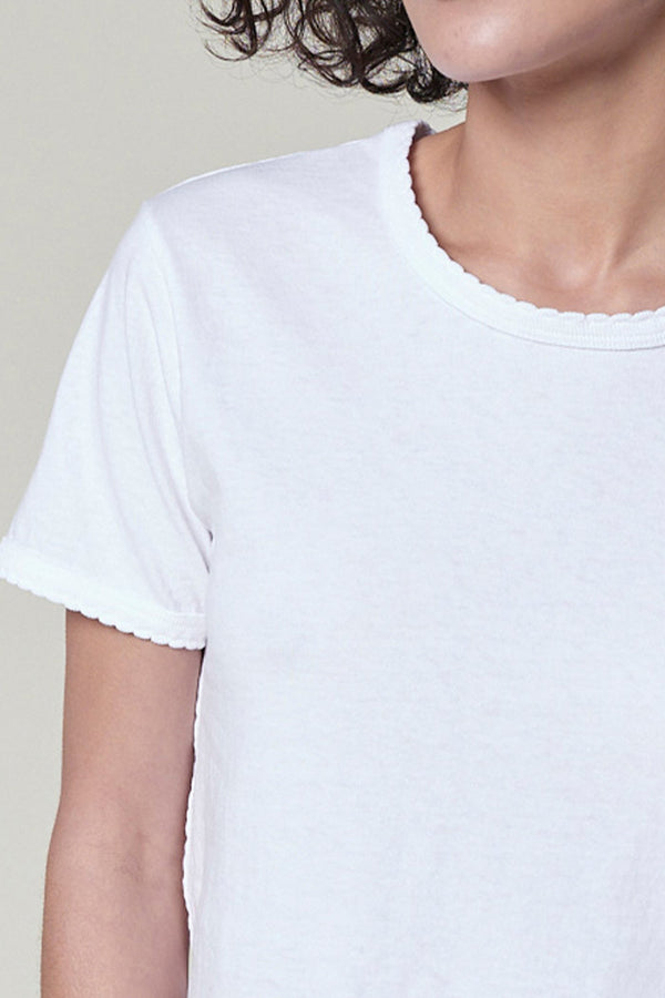 Scallop Babe Tee