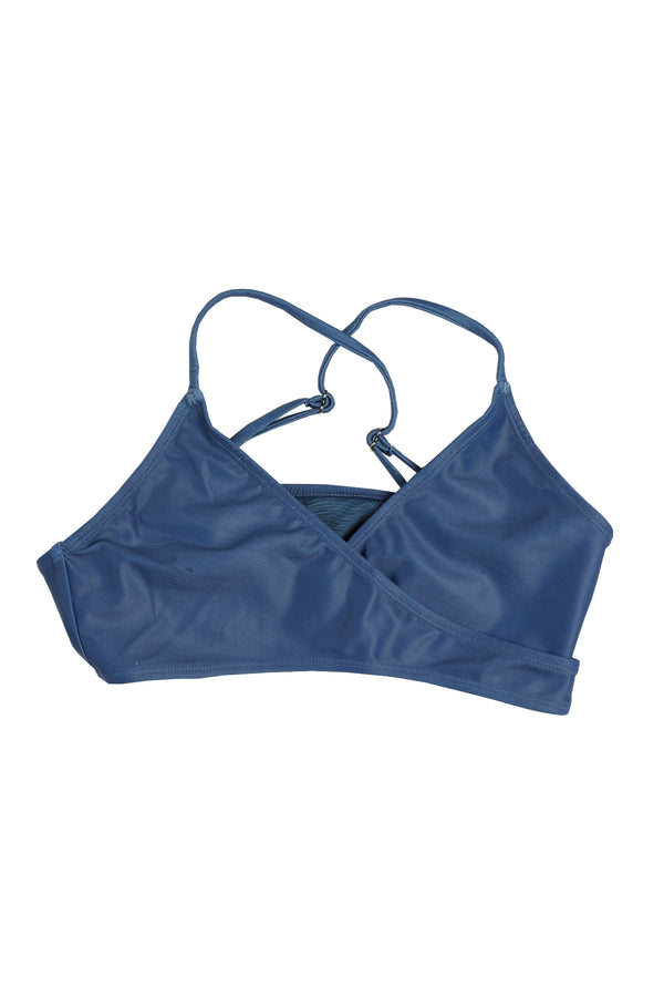 The Blú Cross Kini in Blue | Blú Swimwear
