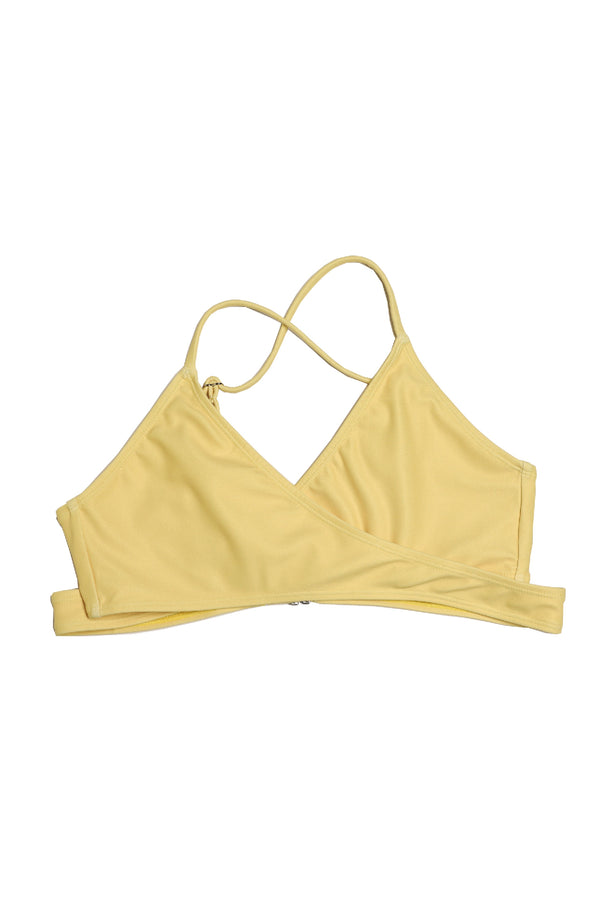 The Blú Cross Kini in Yellow | Blú Swimwear