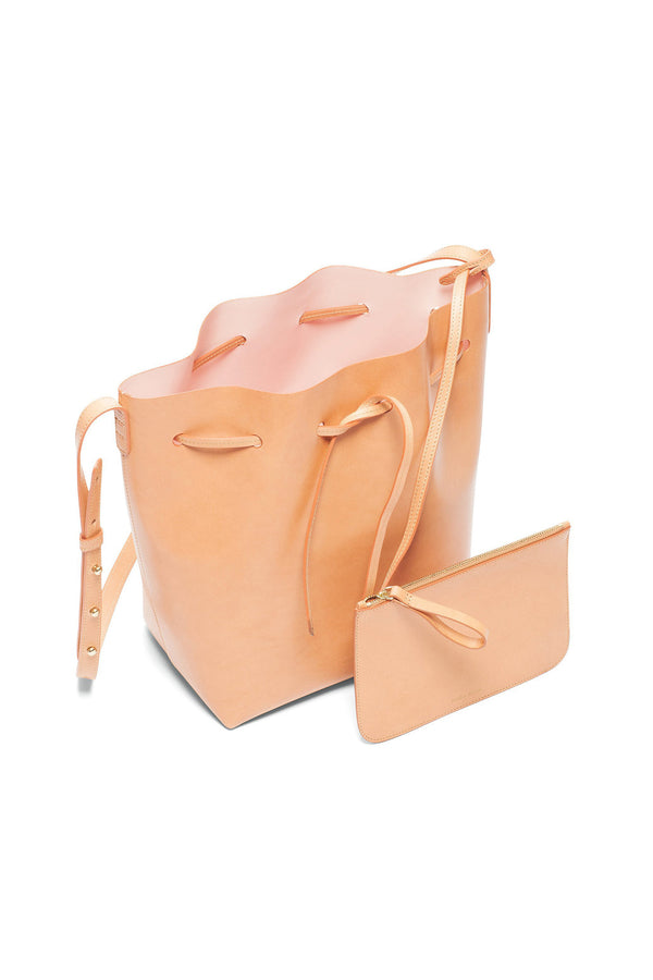 Cammello Bucket Bag (Rosa Interior) by Mansur Gavriel