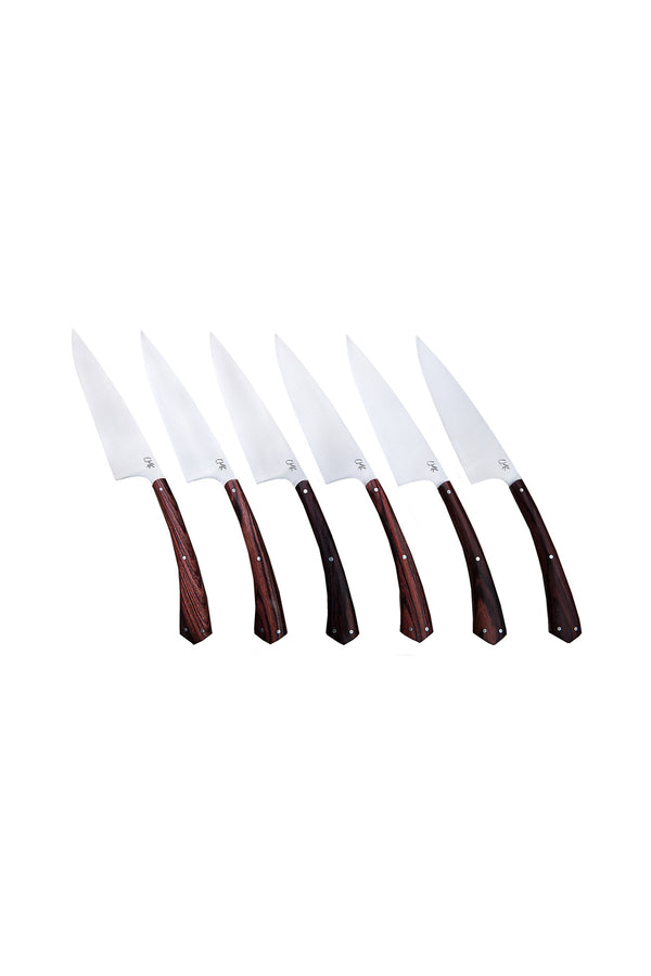 Steak Knife Set of 6 by Chelsea Miller Knives