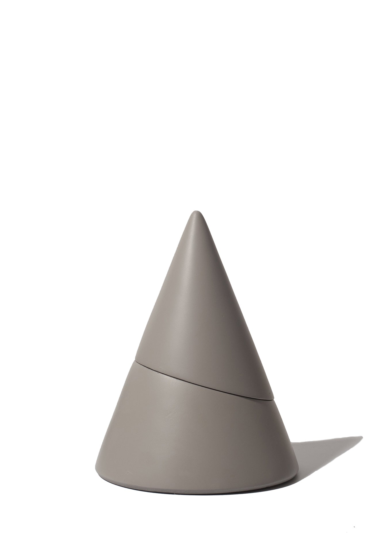 Concrete Cone Incense Burner