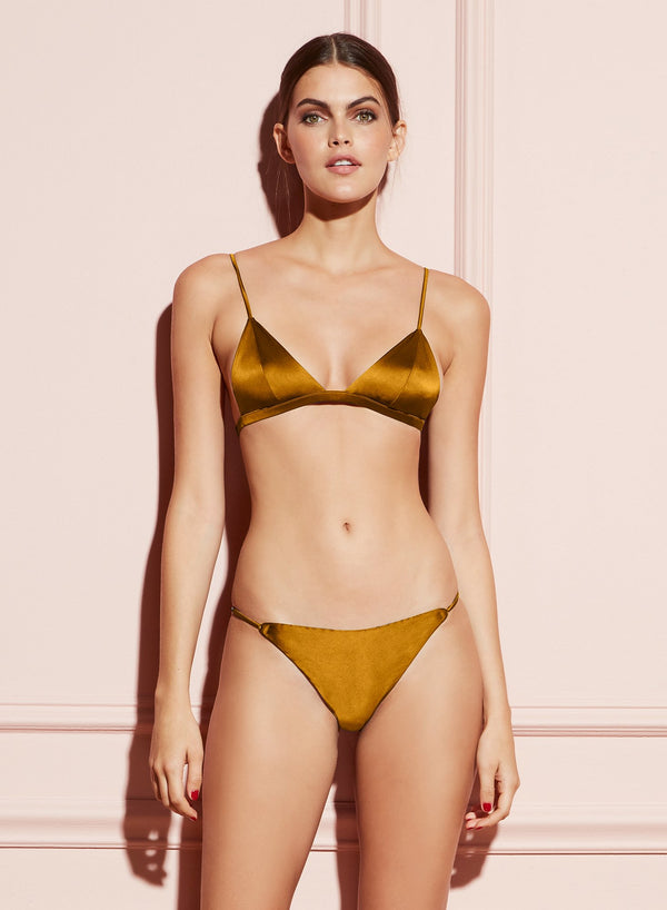 Luxe Cheeky in Gold Digger by Fleur du Mal