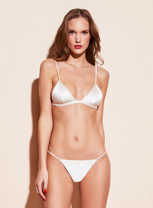 Luxe Cheeky in White by Fleur du Mal