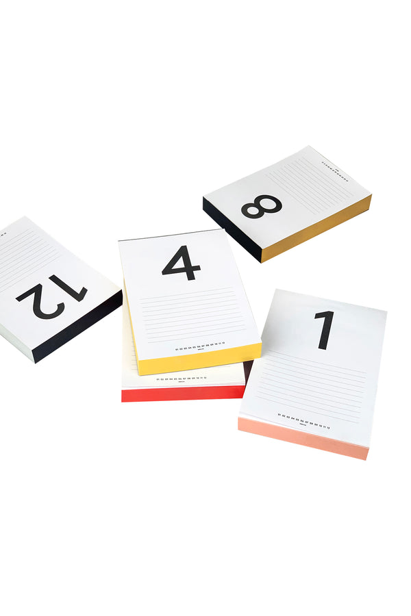 Daily Calendar Notepad